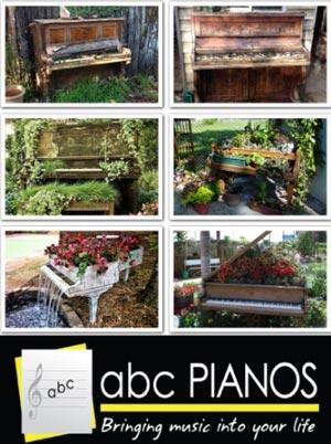 reused pianos